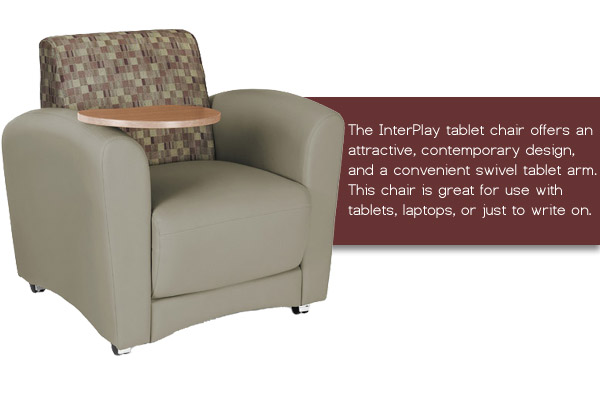 OFM InterPlay Tablet Lounge Chair